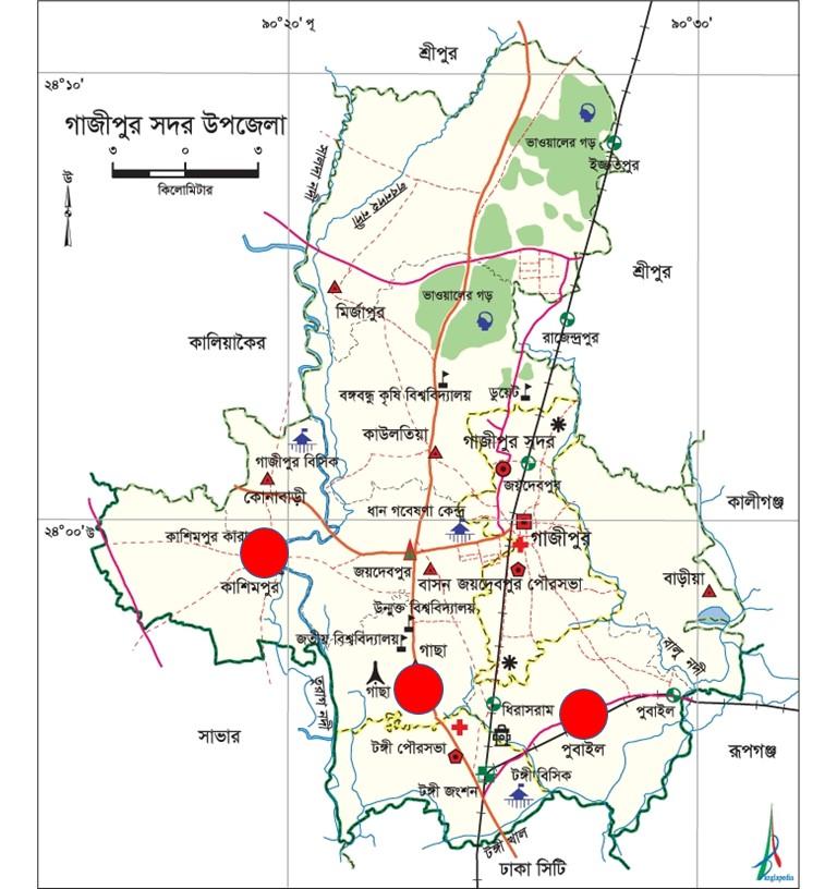 কাশিমপুর গাছা পুবাইল মাদরাসা